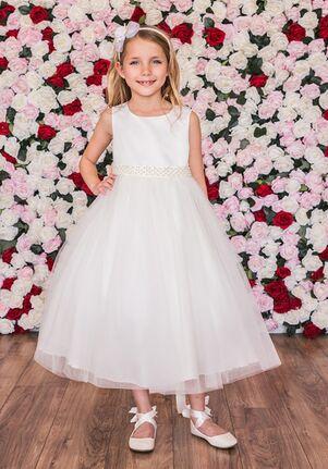 Kid's Dream 411-S Ivory Flower Girl Dress