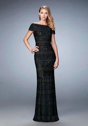 La Femme Evening 23012 Black Mother Of The Bride Dress
