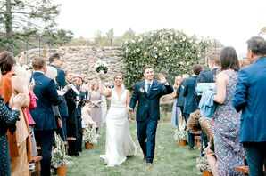 Romantic Recessional at Lakefalls Lodge in Stoddard, New Hampshire