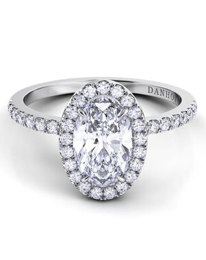 Danhov Elegant Princess, Asscher, Cushion, Emerald, Heart, Marquise, Pear, Radiant, Round, Oval Cut Engagement Ring