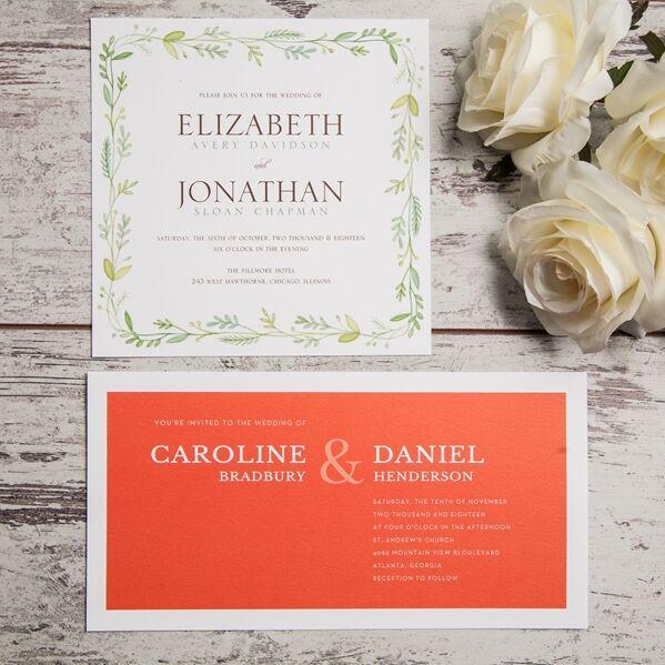 B Wedding Invitations   Invitations With Unique Designs   Buena Park, CA