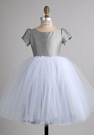 Elizabeth St. John Children Adora White Flower Girl Dress