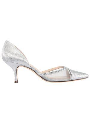 Nina Bridal Blythe Silver Shoe