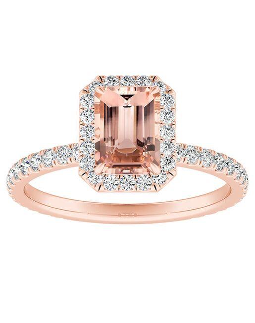 DiamondWish.com Classic Princess, Asscher, Cushion, Emerald, Marquise, Round, Oval Cut Engagement Ring