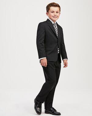 Jos. A. Bank Joseph & Feiss Boys' Suit - Black Suit Black Tuxedo