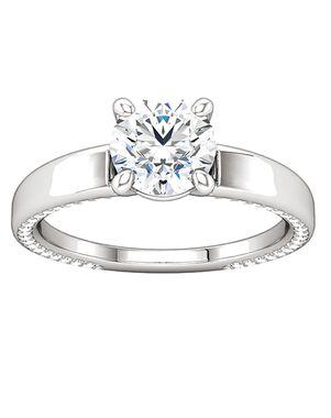 ever&ever Classic Princess, Asscher, Cushion, Emerald, Heart, Round Cut Engagement Ring