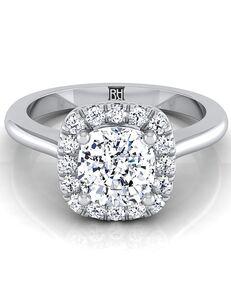 RockHer Elegant Cushion Cut Engagement Ring