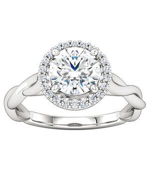 ever&ever Elegant Round Cut Engagement Ring
