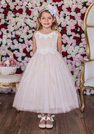 Kid's Dream 458 Ivory Flower Girl Dress