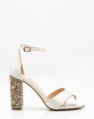 LE CHÂTEAU Wedding Boutique SHOES_362783_004 Black, Gold, Pink, White Shoe