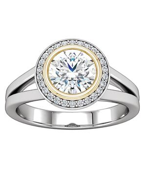 ever&ever Unique Princess, Asscher, Cushion, Emerald, Marquise, Round, Oval Cut Engagement Ring