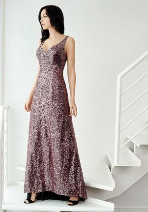 Colour by Kenneth Winston 5262L V-Neck Bridesmaid Dress
