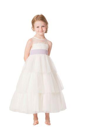 Bari Jay Flower Girls F6317 Ivory Flower Girl Dress