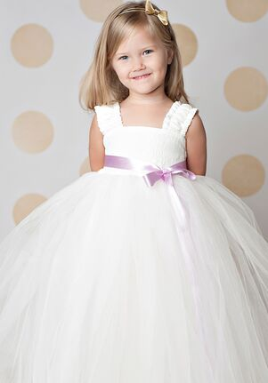 FATTIEPIE elsa ivory Flower Girl Dress