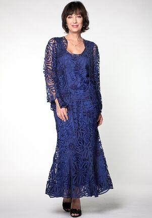 Soulmates D9122 Blue Mother Of The Bride Dress