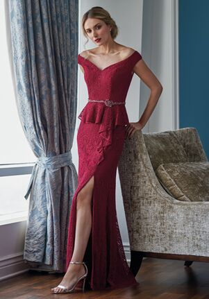 Jade Couture Mother of the Bride by Jasmine K218061 Red Mother Of The Bride Dress