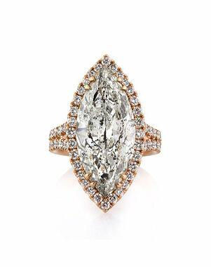 Mark Broumand Glamorous Marquise Cut Engagement Ring