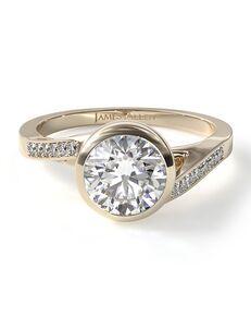 James Allen Elegant Round Cut Engagement Ring