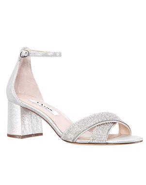 Nina Bridal Nolita Silver Shoe