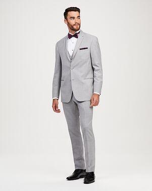Jos. A. Bank Notch Lapel Gray Tuxedo Gray Tuxedo