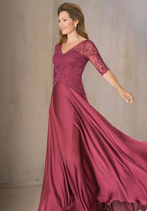 Jade Couture Mother of the Bride by Jasmine K208004 Red Mother Of The Bride Dress