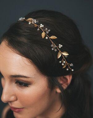 Davie & Chiyo   Hair Accessories & Veils Iverness Hair Vine Gold, Pink, Silver Headband