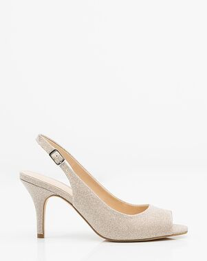LE CHÂTEAU Wedding Boutique SHOES_362356_653 Gold, Ivory, Pink, Silver, Gray, Champagne Shoe