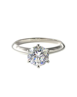 James Allen Classic Princess, Emerald, Round, Oval Cut Engagement Ring