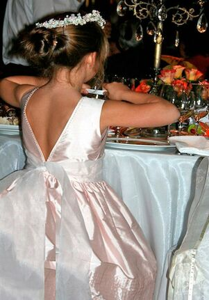 Isabel Garretón Melody White Flower Girl Dress