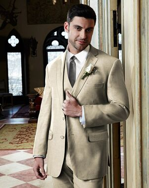 BLACKTIE MADISON Tan Wedding Suit Brown, Champagne Tuxedo
