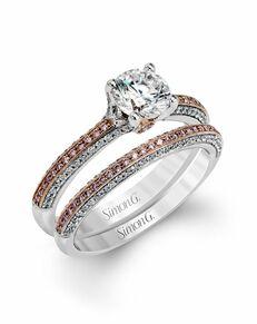 Simon G. Jewelry Round Cut Engagement Ring