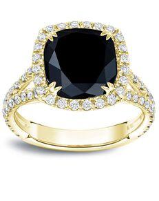 DiamondWish.com Vintage Cushion Cut Engagement Ring