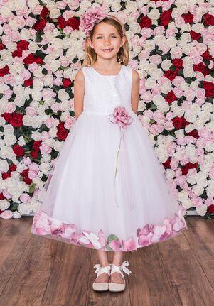 Kid's Dream 160C Black Flower Girl Dress