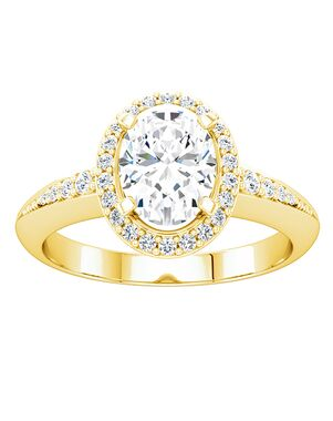 ever&ever Classic Princess, Asscher, Cushion, Emerald, Marquise, Round, Oval Cut Engagement Ring