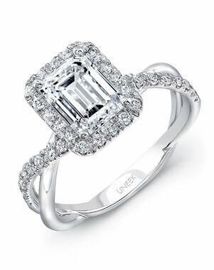 Uneek Fine Jewelry Emerald Cut Engagement Ring