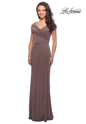 La Femme Evening 26519 Black Mother Of The Bride Dress