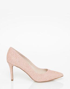 LE CHÂTEAU Wedding Boutique SHOES_358418_653 Black, Gold, Pink, White, Champagne Shoe