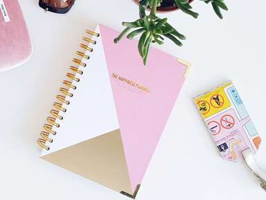 Rose and gold Happiness Planner