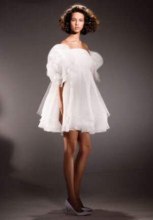 Viktor&Rolf Mariage DRAPED ROSE BABY DOLL Ball Gown Wedding Dress