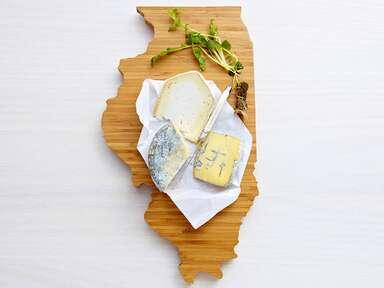 State-shaped AHeirloom cutting board