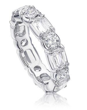Christopher Designs L201-0-350 White Gold Wedding Ring
