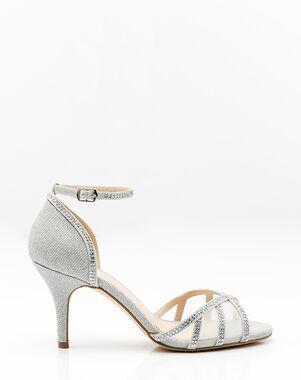 LE CHÂTEAU Wedding Boutique SHOES_362402_092 Pink, Silver, Gray, Champagne Shoe