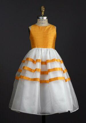 Elizabeth St. John Children Colleen White Flower Girl Dress
