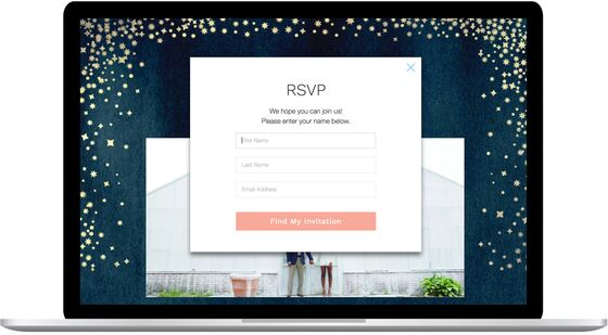 Easiest Wedding RSVP by The Knot