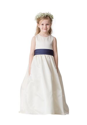 Bari Jay Flower Girls F5216 Blue Flower Girl Dress