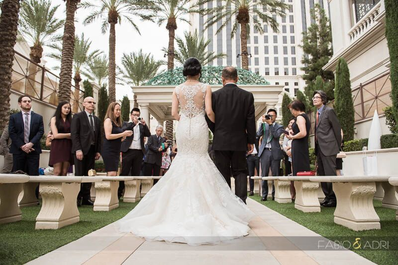 Caesars Palace Wedding Receptions Unveil