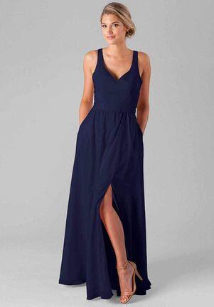 Kennedy Blue Riley V-Neck Bridesmaid Dress