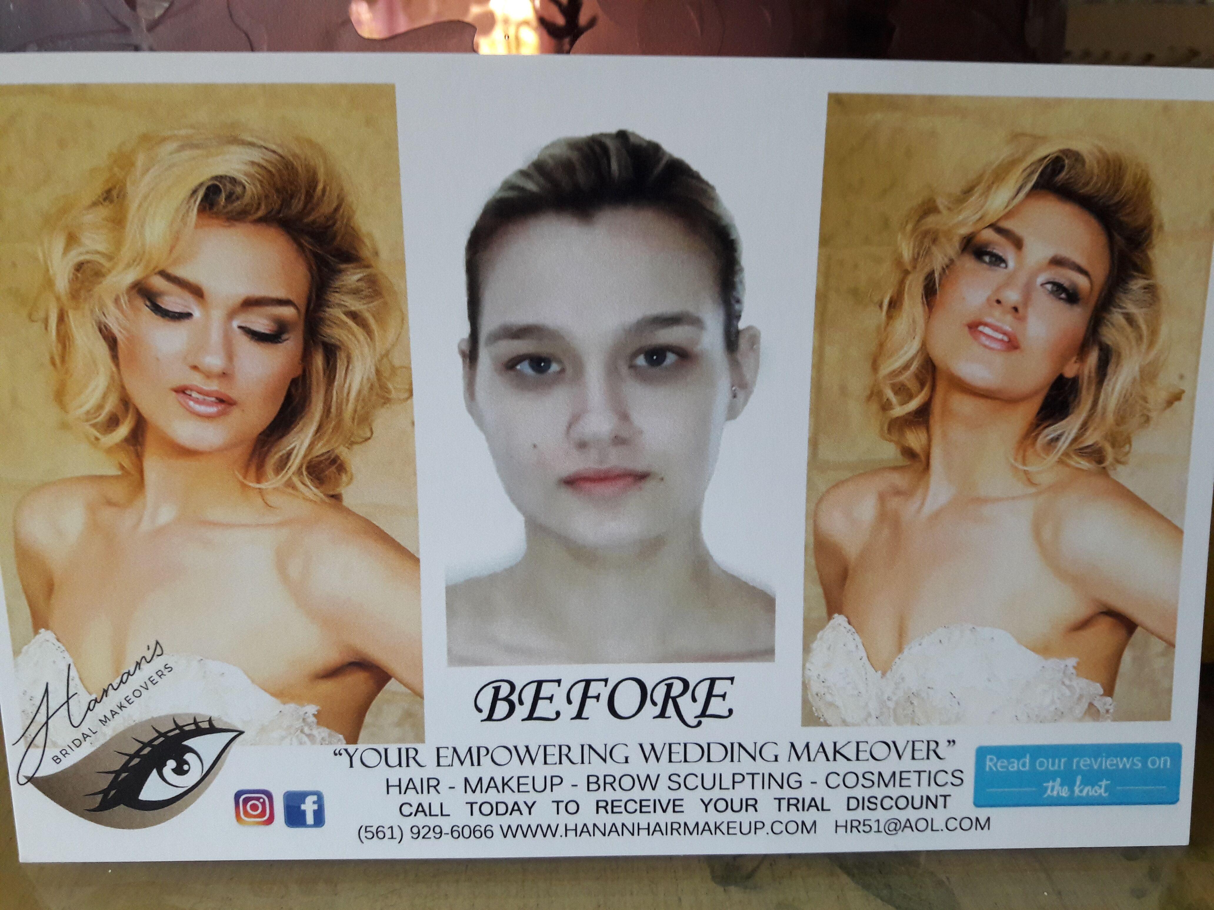 Hanan S Bridal Hair And Makeup Studio Cape Coral Fl