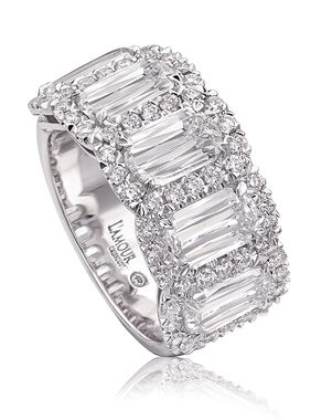 Christopher Designs L204-5-200 White Gold Wedding Ring