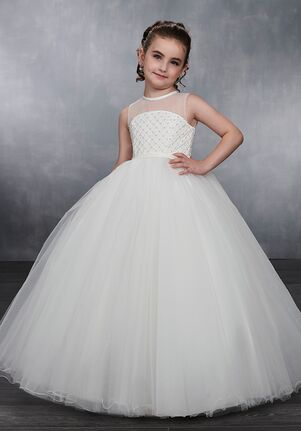 Mary's Angel by Mary's Bridal MB9038 White Flower Girl Dress